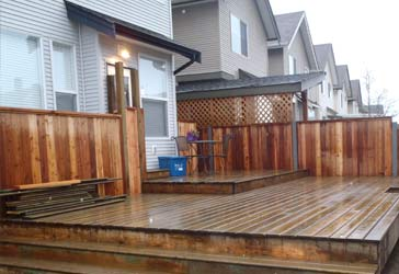 New Deck after Completion